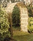 Woven Wattle Arch